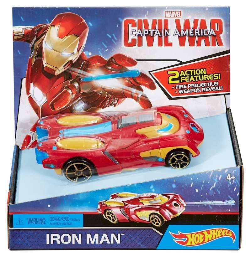 Машина Hot Wheels Marvel Civil War Captain America I..